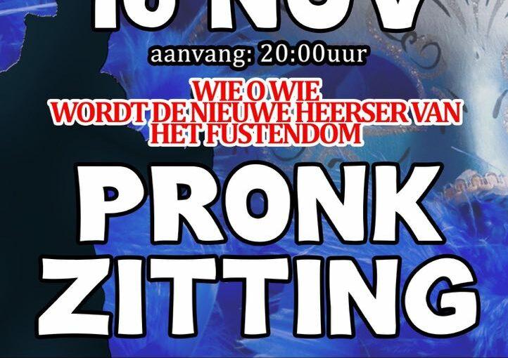 Pronkzitting en Prinsenreceptie CV de Deurzakkers in Ooij.
